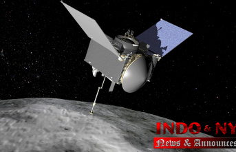 NASA spacecraft Starts 2-year trip House with asteroid rubble