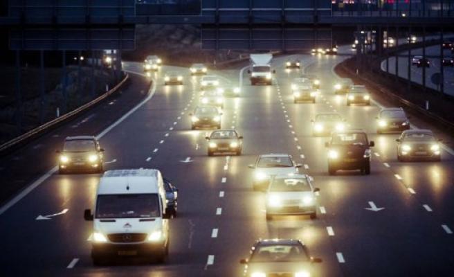 Accident on the E20 Vestmotorvejen creates traffic