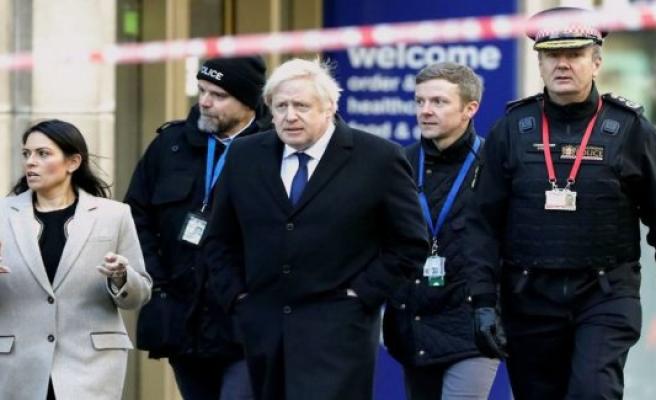 Boris Johnson criticises the parole of terrorist