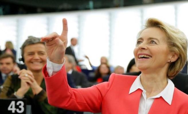 EU Parliament approves Ursula von der Leyens EUROPEAN Commission