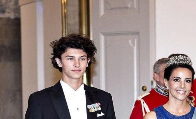 Prince Nikolai targets for gross internetparodi
