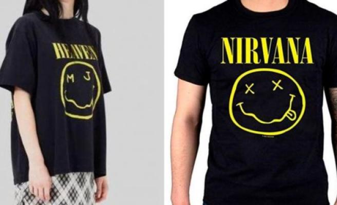 The fashion house Marc Jacobs plaintiff Nirvana
