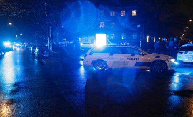 The police are massively present in Nørrebro