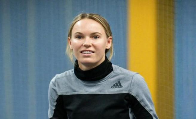 View the photos: Wozniacki, on a visit in Copenhagen