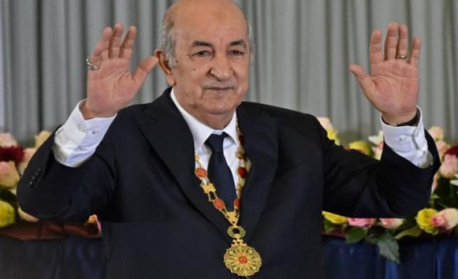 Algeria's president sworn in while the protesters are protesting
