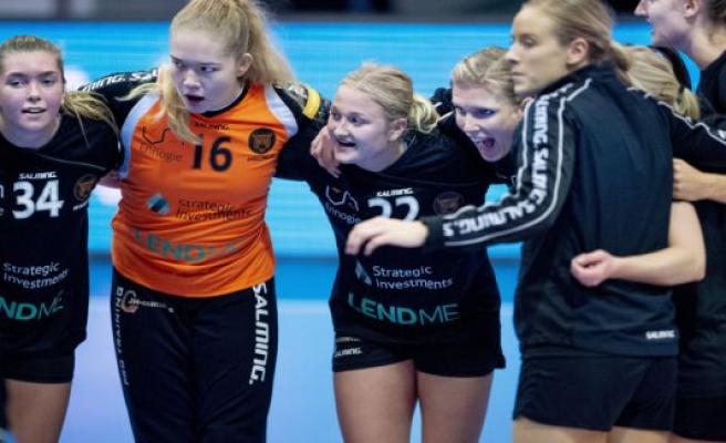 Copenhagen Handball presents minus at nine million