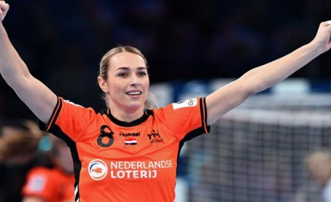 Dutch håndboldkvinder rise up against Angola