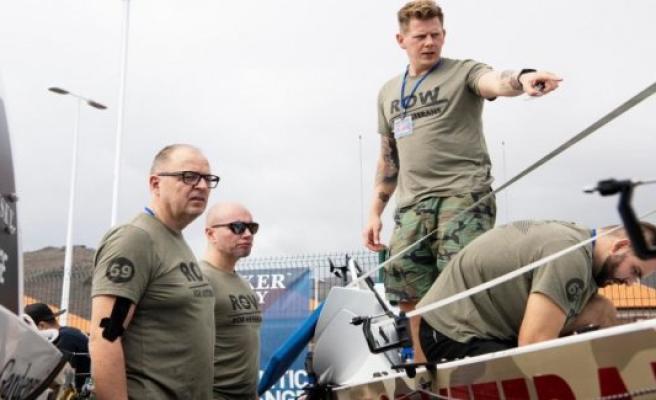 Four Danish men will travel over the Atlantic ocean in a rowboat