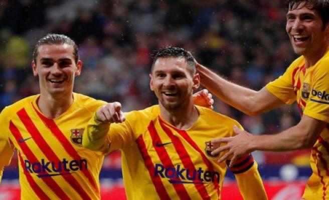 He did it eddersparkeme again! Messi lowers Atlético late-signature-scoring