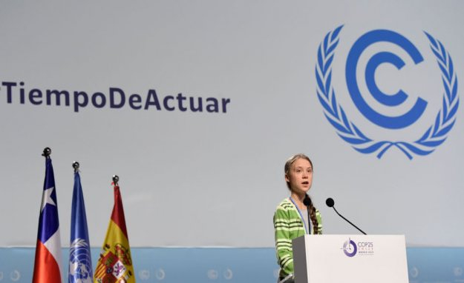 Klimaaktivist Greta Thunberg is the Person in 2019