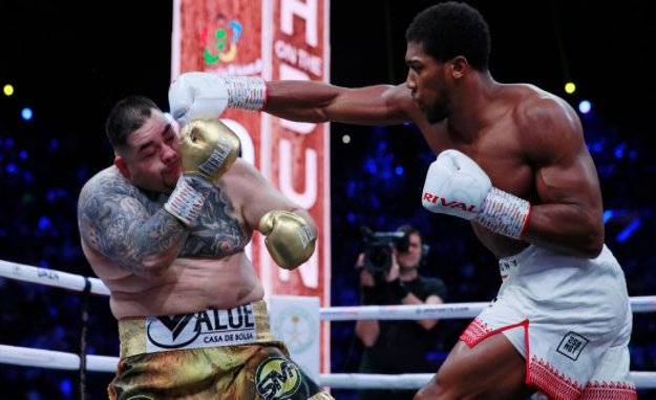 LIVE: the Year boksebrag - Andy Ruiz Jr. bleed