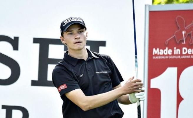 Lack of fear ensures Danish golfteenager big victory
