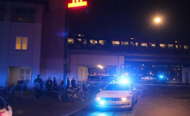 Large fights at Nørrebro Station