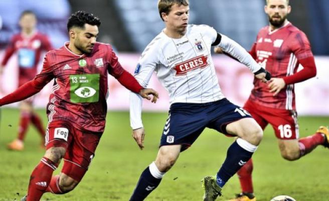 Lyngby shares with AGF and breaks aarhusiansk winning streak