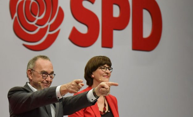 The German social democrats will allow Merkel's coalition a chance