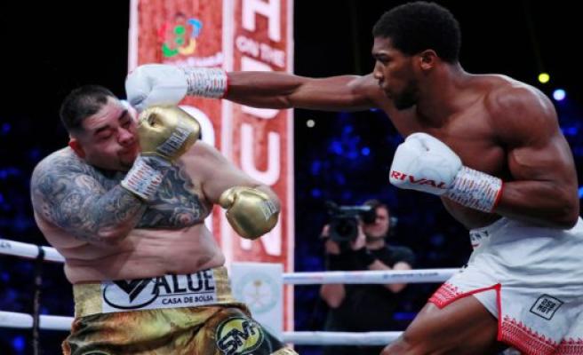 The year boksebrag: Anthony Joshua world champion again