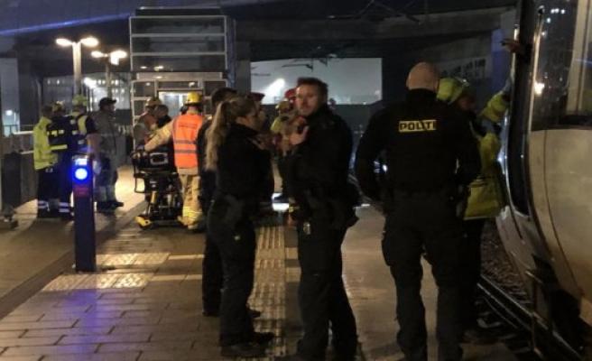 Togitrafikken back as normal on the New Ellebjerg St. after a collision.