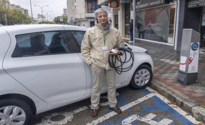 Valencia, Sevilla and Malaga, lack of public network to recharge electric cars