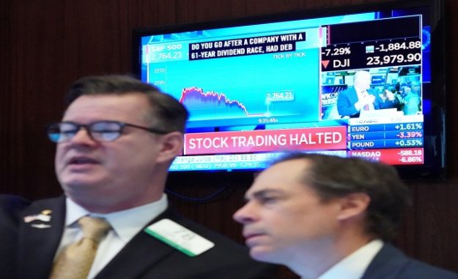 Corona-Crash: the Swiss stock market includes deep red, even US stocks SAG