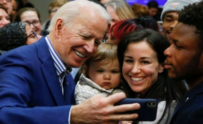 Joe Biden win his first pre-election clear