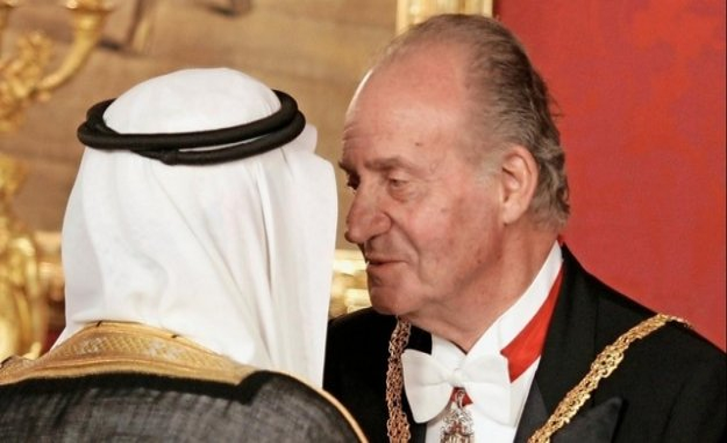 Saudi king transfers to the Spanish king 100 million