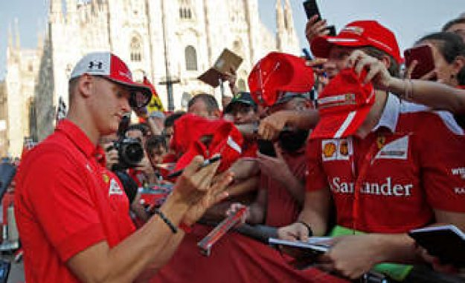 Formula 1: Vettel-From - Sit again soon, a Schumacher in the Ferrari? | More-Sports