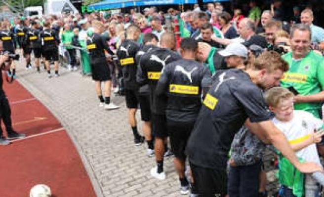 Gladbach dispensed at summer training camp on lake Tegernsee   Rottach-Egern