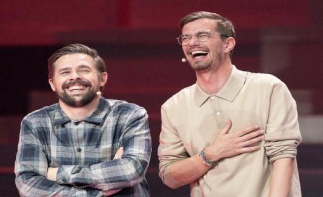 Joko and Klaas perform Corona-deniers on TV, caller disgraced bad