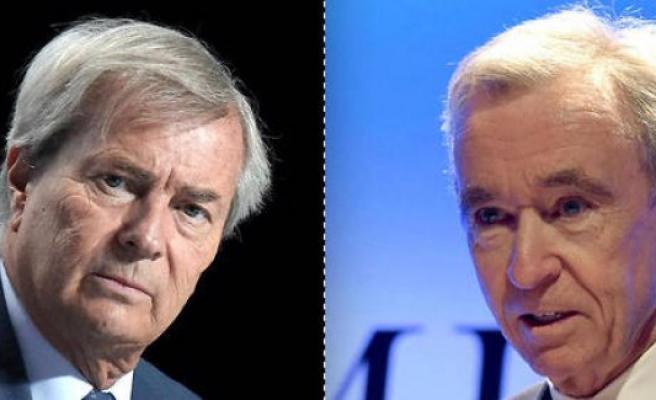 Lagardère : the war Bernard Arnault-Vincent Bolloré will it take place ? - The Point