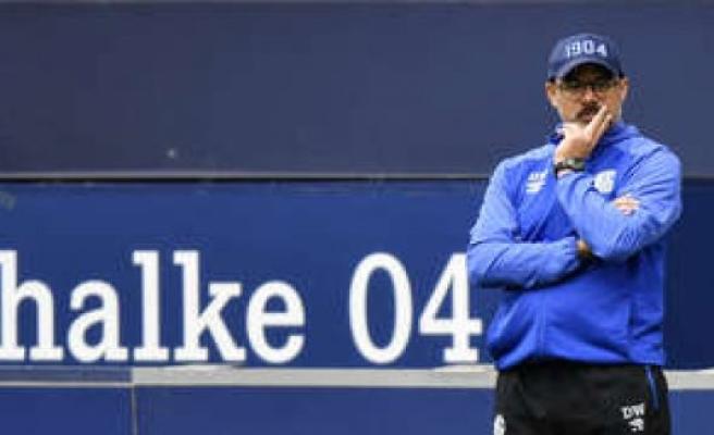 Schalke 04: a hard-hitting analysis from David Wagner - S04 6-problems   football