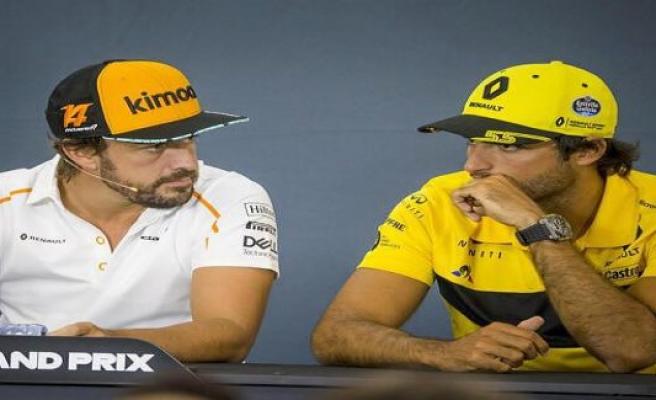 Stefano Domenicali: Carlos Sainz will benefit at Ferrari of Alonso