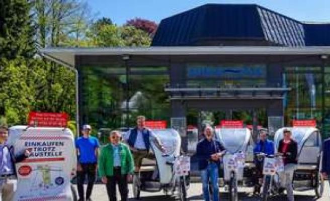 Wolfratshausen: Free rickshaw Service will be at 5. June set | Wolfratshausen