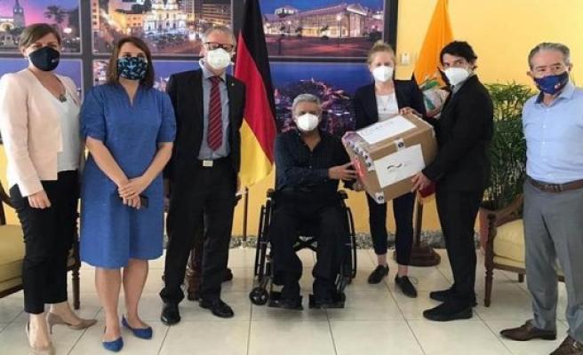 Charité helps Ecuador in the Corona-crisis