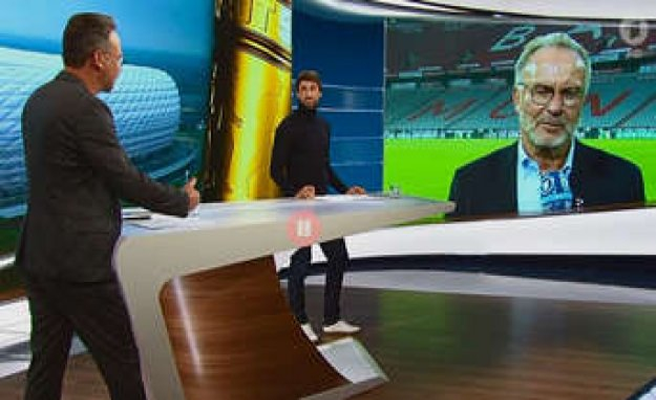 DFB-Cup: Bizarre Interview between ARD-man Opdenhövel with Rummenigge is network freak | FC Bayern