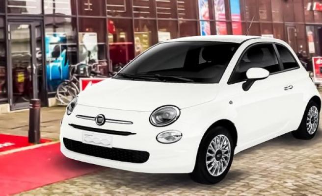 Fiat 500 Hybrid Media market
