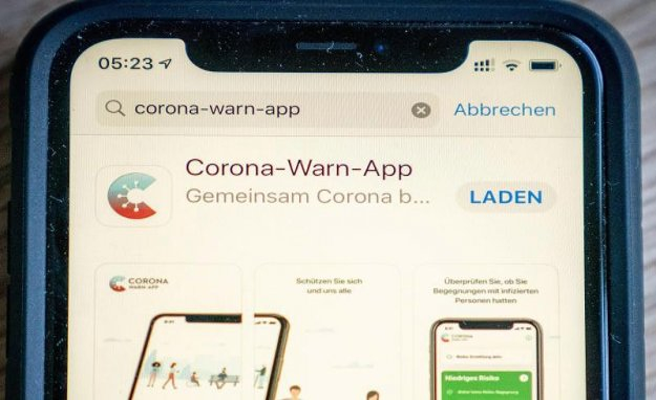 German Corona-Warning-App is presented in the morning