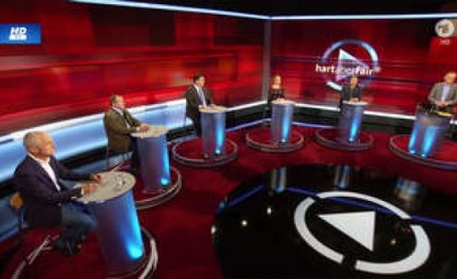 Hard but fair, ARD (TV criticism): Frank Plasberg with awkward Faux-Pas   TV