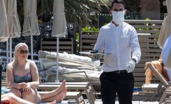 Holidays in Corona: German tourists solve anxiety on Mallorca   world