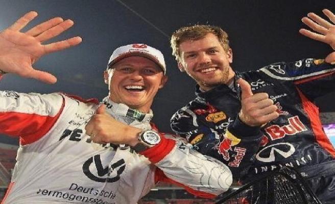Jean Alesi: Vettel had it in the Ferrari heavier than Schumacher