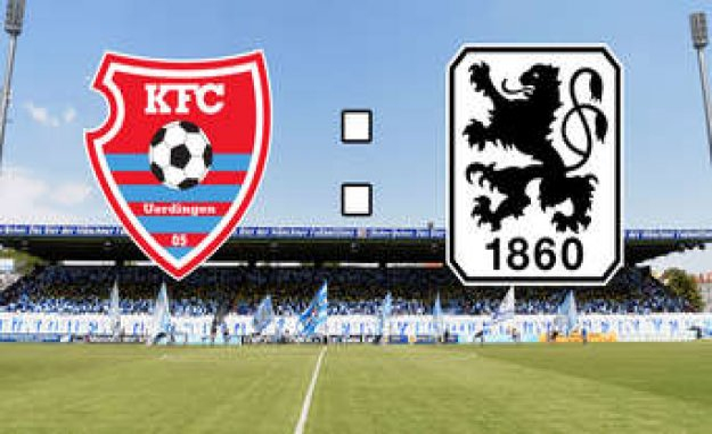 KFC Uerdingen - TSV 1860 in the Live-Ticker: reunion with Ex-lion Grimaldi in the tracker duel   TSV 1860