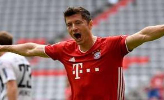 Lewandowski against Freiburg best brands on | football