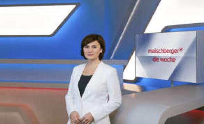 Maischberger. The week (ARD): the summer break, the talk show starts the beginning of June,   TV