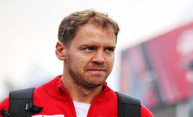Mugello: Vettel is advertising for formula 1 race in Mugello