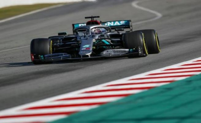 Silver arrow wears Black: Hamilton gets new livery