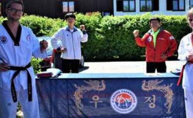 Taekwondo: Lina-Marie's choice is the youngest black belt winner in Bavaria   Tegernsee Region