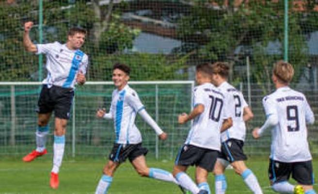 U17 TSV 1860 Munich rises to the termination of the season in Bundesliga on   TSV 1860