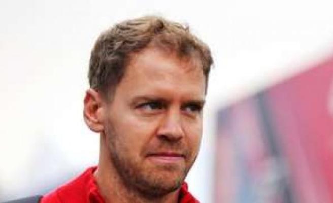 Vettel is advertising for formula 1 race in Mugello | sports
