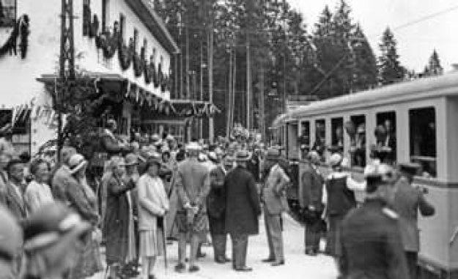 Zugspitze: 90 years of gear train: With the pneumatic hammer through the mountain   Garmisch-Partenkirchen