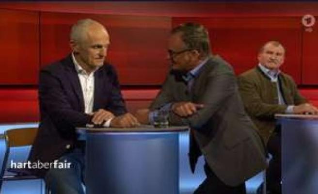 tough but fair (ARD): Plasberg, the collar bursts - don't want you bad | TV