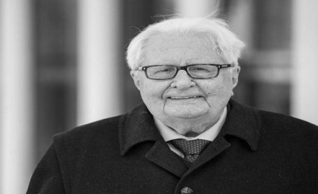 After a long illness died: Ex-SPD leader Hans-Jochen Vogel is dead